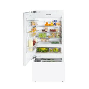 "Miele Bottom Mount Refrigerator - Miele 36"" KF1913 Vi Bottom-Mount Fridge/Freezer"