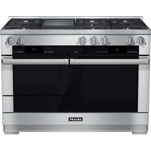 "Miele Dual Fuel Ranges - Miele HR1956 DF GD 48"" Dual Fuel Range"