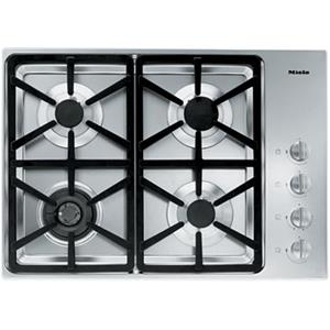 "Miele Gas Cooktops - Miele 30"" 4-Burner KM3464 G Gas Cooktop"
