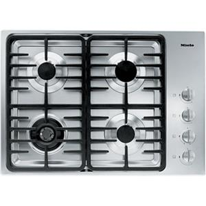"Miele Gas Cooktops - Miele 30"" 4-Burner KM3465 G Gas Cooktop"