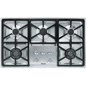 "Miele Gas Cooktops - Miele 36"" 5-Burner KM3474 LP Gas Cooktop"