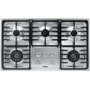 "Miele Gas Cooktops - Miele 36"" 5-Burner KM3475 G Gas Cooktop"