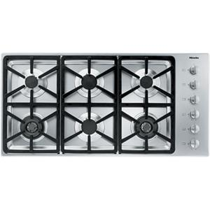 "Miele Gas Cooktops - Miele 42"" 6-Burner KM3484 LP Gas Cooktop"