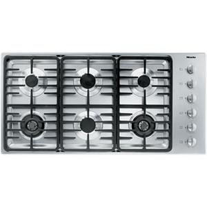 "Miele Gas Cooktops - Miele 42"" 6-Burner KM3485 LP Gas Cooktop"