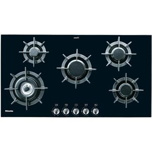 "Miele Gas Cooktops - Miele 36"" 5-Burner KM391 Gas on Glass (LP) Cooktop"