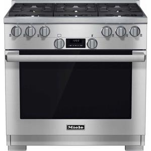 "Miele Gas Ranges - Miele HR1134 36"" All Gas Range"
