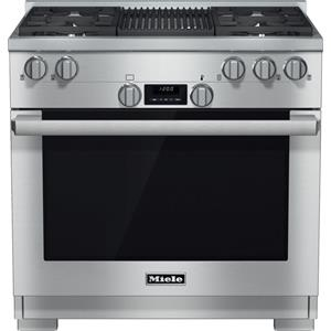 "Miele Gas Ranges - Miele HR1135 GR 36"" All Gas Range"