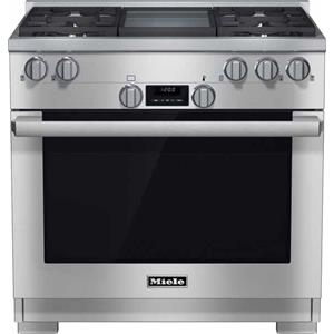 "Miele Gas Ranges - Miele HR1136 GD 36"" All Gas Range"