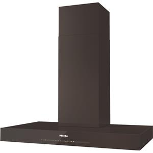"Miele Hoods and Ventilation - Miele DA6690 W Truffle Brown 36"" Wall Hood"