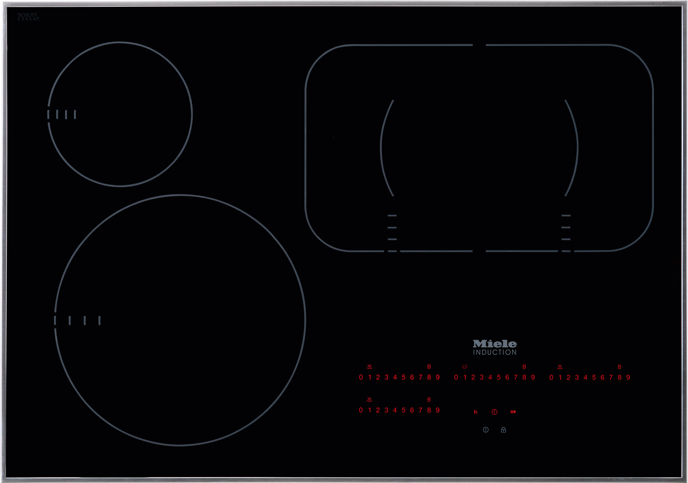 """Miele Induction Cooktops 30"""" KM6360 Induction Cooktop - Item Number: 26636052USA"""