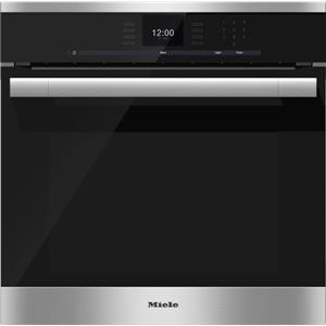 """Miele Ovens - Miele 24"""" H6560 B ContourLine Convection Oven"""
