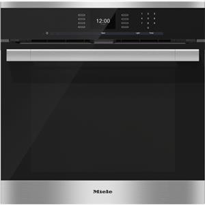 """Miele Ovens - Miele 24"""" H6560 BP ContourLine Convection Oven"""