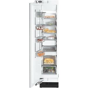 "Miele Single Door Freezers - Miele 18"" F1413 SF Clean Touch Steel™ Freezer"