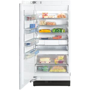 "Miele Single Door Freezers - Miele 36"" F1913 SF Clean Touch Steel™ Freezer"