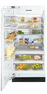 """Miele Single Door Refrigeration - Miele 36"""" K1913 SF Clean Touch Steel™ Refrigerator - Item Number: 36191311USA"""