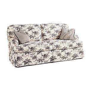 Miles Talbott 1445 Series Stationary Upholstered Sofa