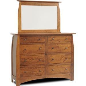 Millcraft Bordeaux Dresser and Mirror