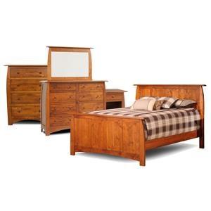 Millcraft Bordeaux 4 Piece Queen Bedroom