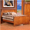 Rotmans Amish Davidson Meadow King Panel Bed - Item Number: BOB557KG