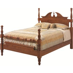 Rotmans Amish Elegant River Bend Queen Cannon Ball Bed