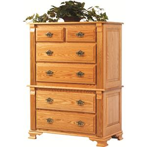Rotmans Amish Journeys End Chest of Drawers