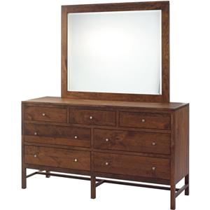 Millcraft Lynnwood Dresser and Mirror Set