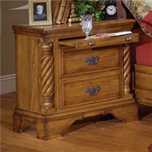 Millenia Winchester Bedside Chest w/ Pull out Tray