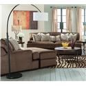 Millennium Fielding Sofa, Chair and Ottoman - Item Number: 421-SOFA+CHAIR+OTTO