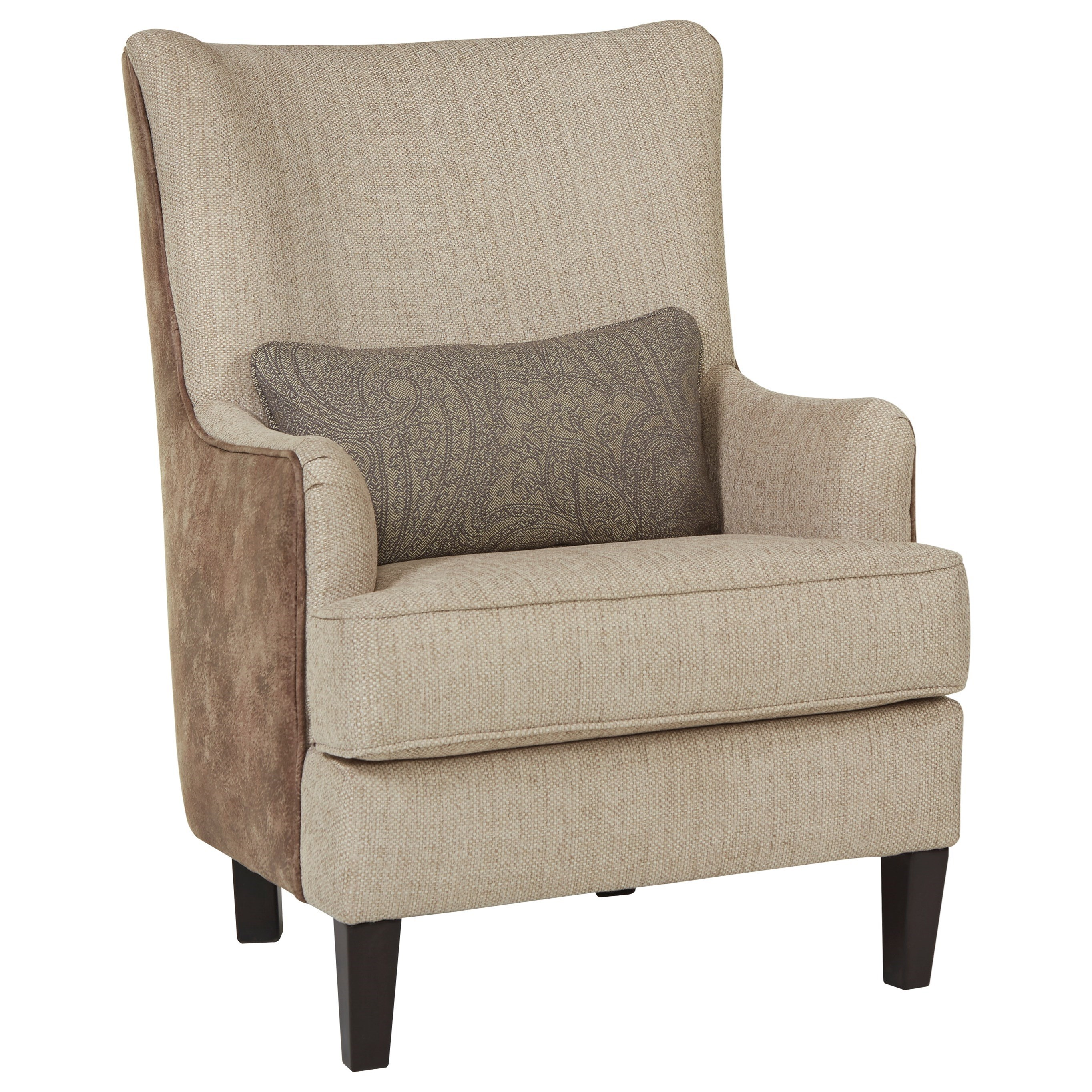 wing back accent chairs millennium baxley modern wing back accent chair with 22164 | products%2Fmillennium%2Fcolor%2Fbaxley 41101 4110121 b1