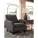 Millennium Entwine Dark Gray Velvet Accent Chair with Geometric Pattern