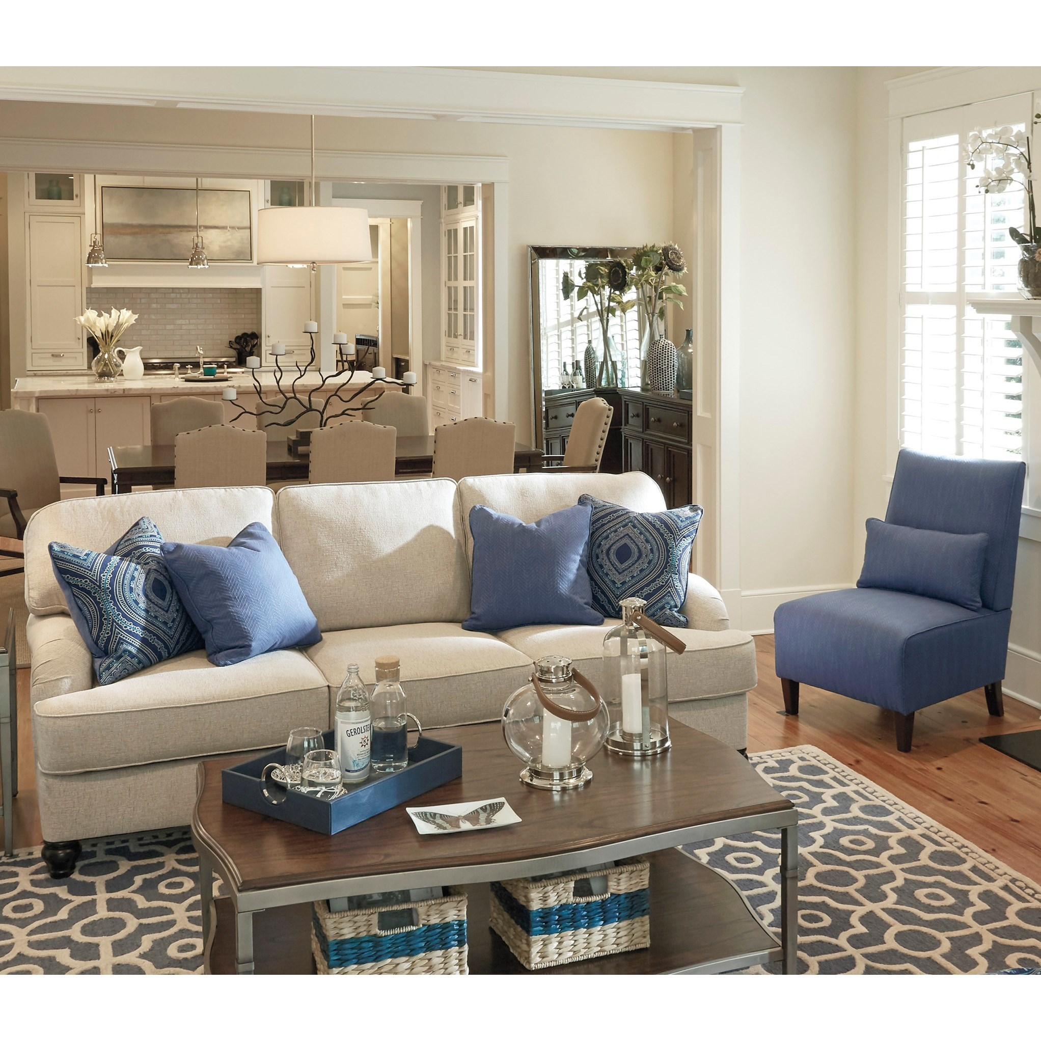 Millennium Harahan Stationary Living Room Group - Item Number: 35701 Living Room Group 2