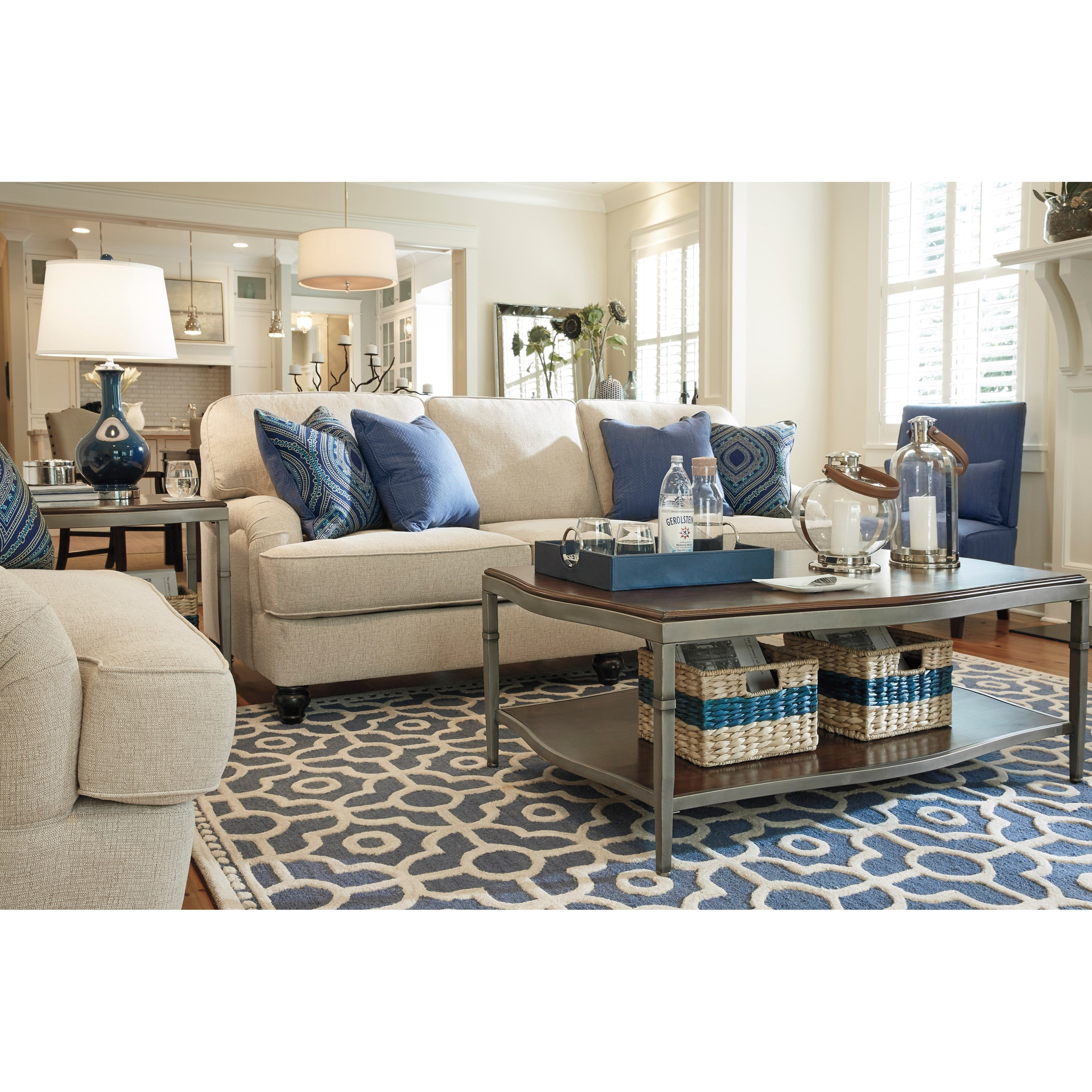 Millennium Harahan Stationary Living Room Group - Item Number: 35701 Living Room Group 3