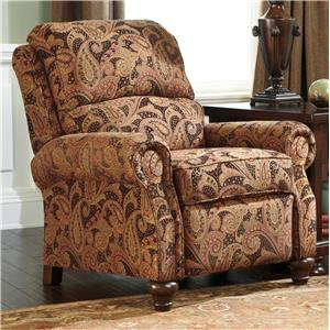 Signature Design by Ashley Hutcherson  Traditional Low Leg Recliner