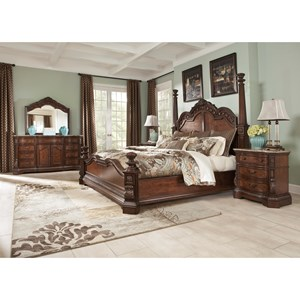 Millennium Ledelle Queen Bedroom Group