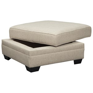 Millennium Luxora Ottoman With Storage