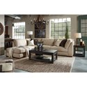Millennium Malakoff 2-Piece Sectional with Left Chaise & UltraPlush Cushions