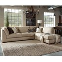 Millennium Malakoff 2-Piece Sectional with Right Chaise - Item Number: 5170266+17