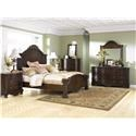 Millennium North Shore Queen Panel Bed Package - Item Number: 585255308
