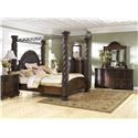 Millennium North Shore King Canopy Bed Package - Item Number: 590255305