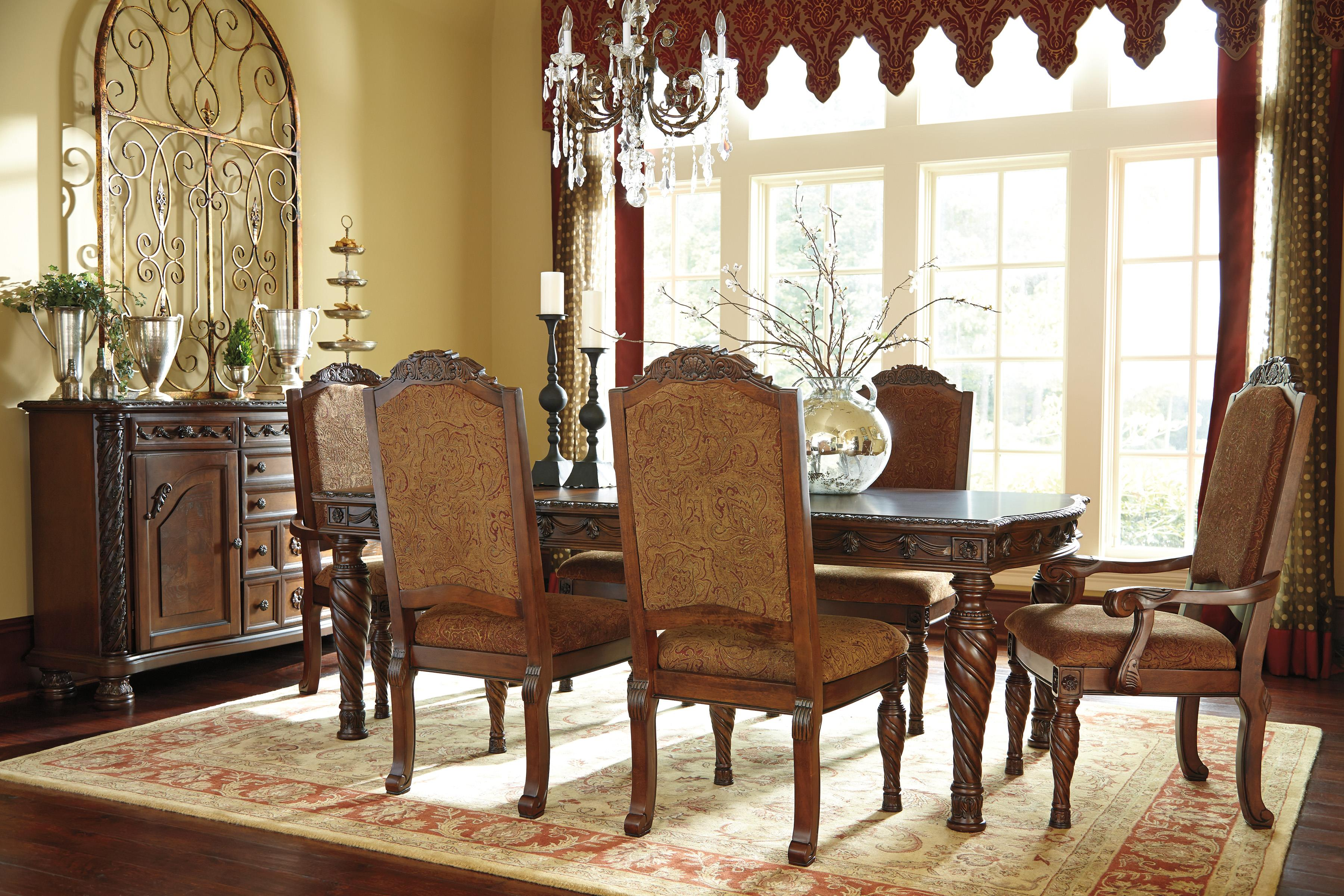 Millennium North Shore Formal Dining Room Group - Item Number: D553 Dining Room Group 3