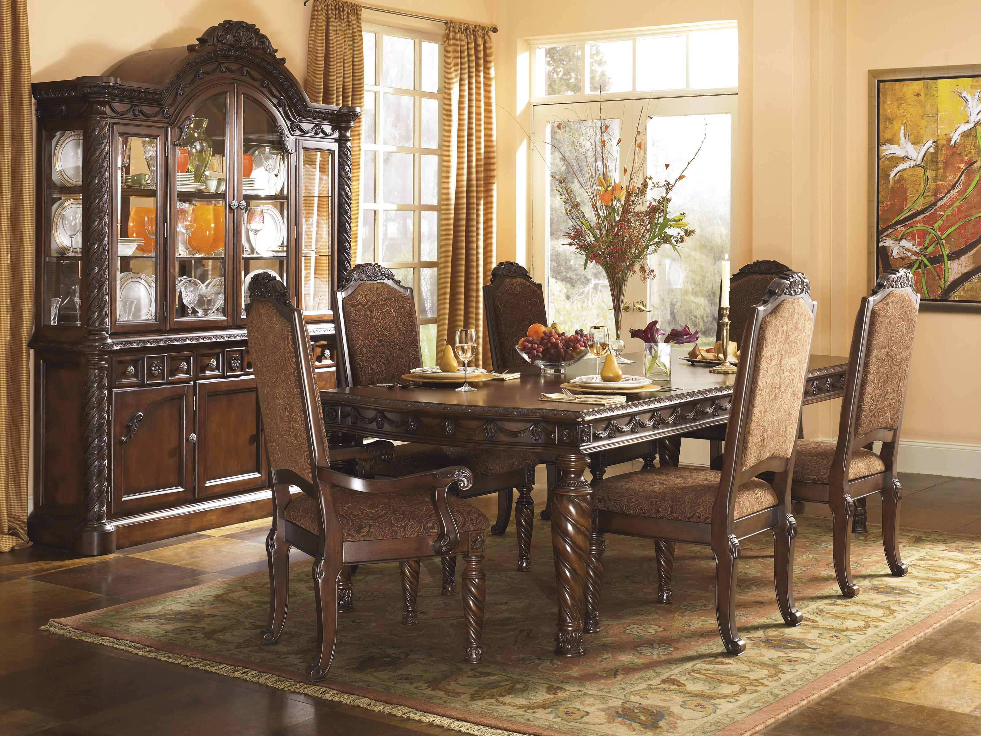 Millennium North Shore Formal Dining Room Group - Item Number: D553 Dining Room Group 4