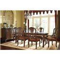 Millennium North Shore Formal Dining Room Group - Item Number: D553 Dining Room Group 6