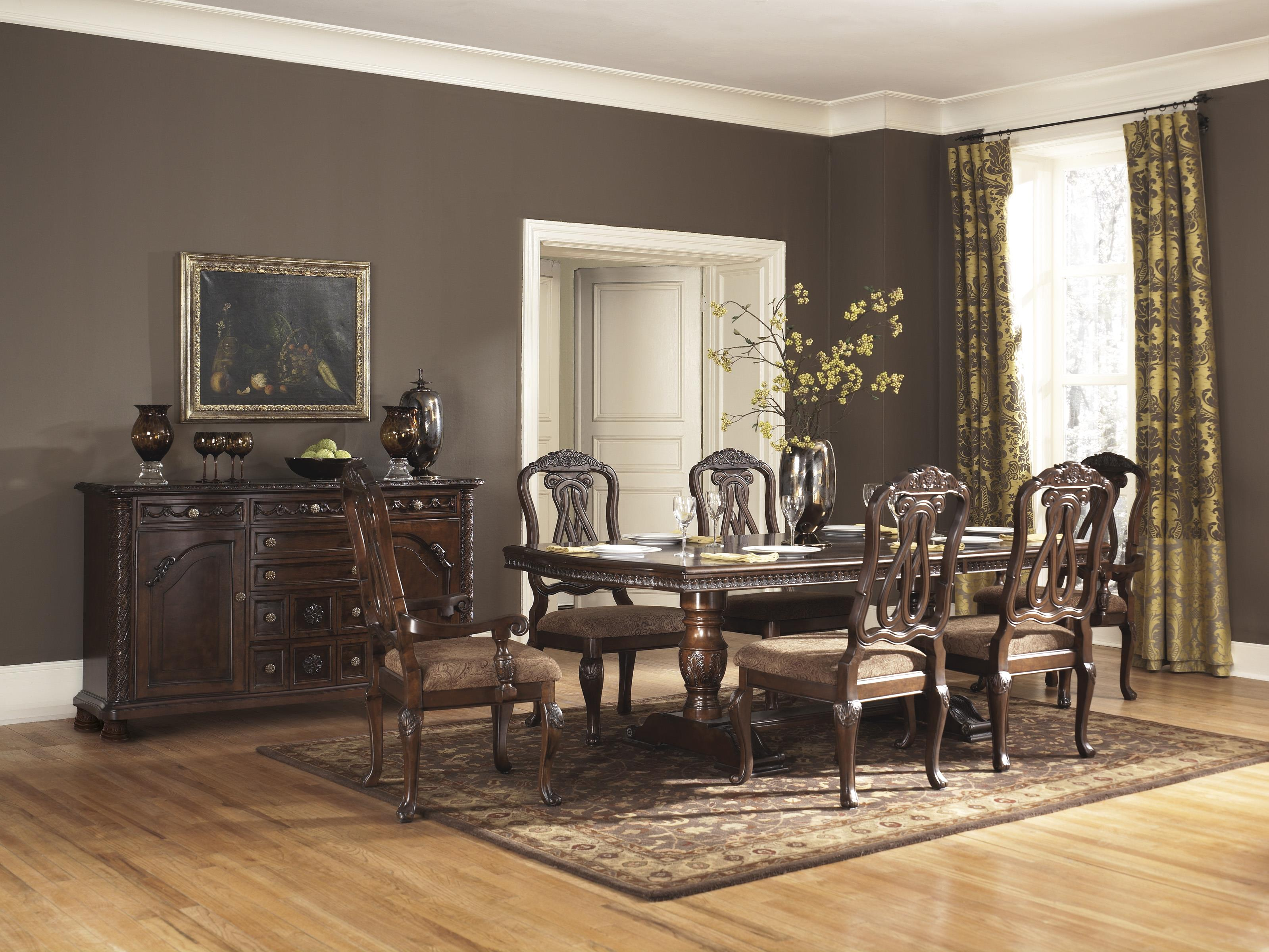 Millennium North Shore Formal Dining Room Group - Item Number: D553 Dining Room Group 7