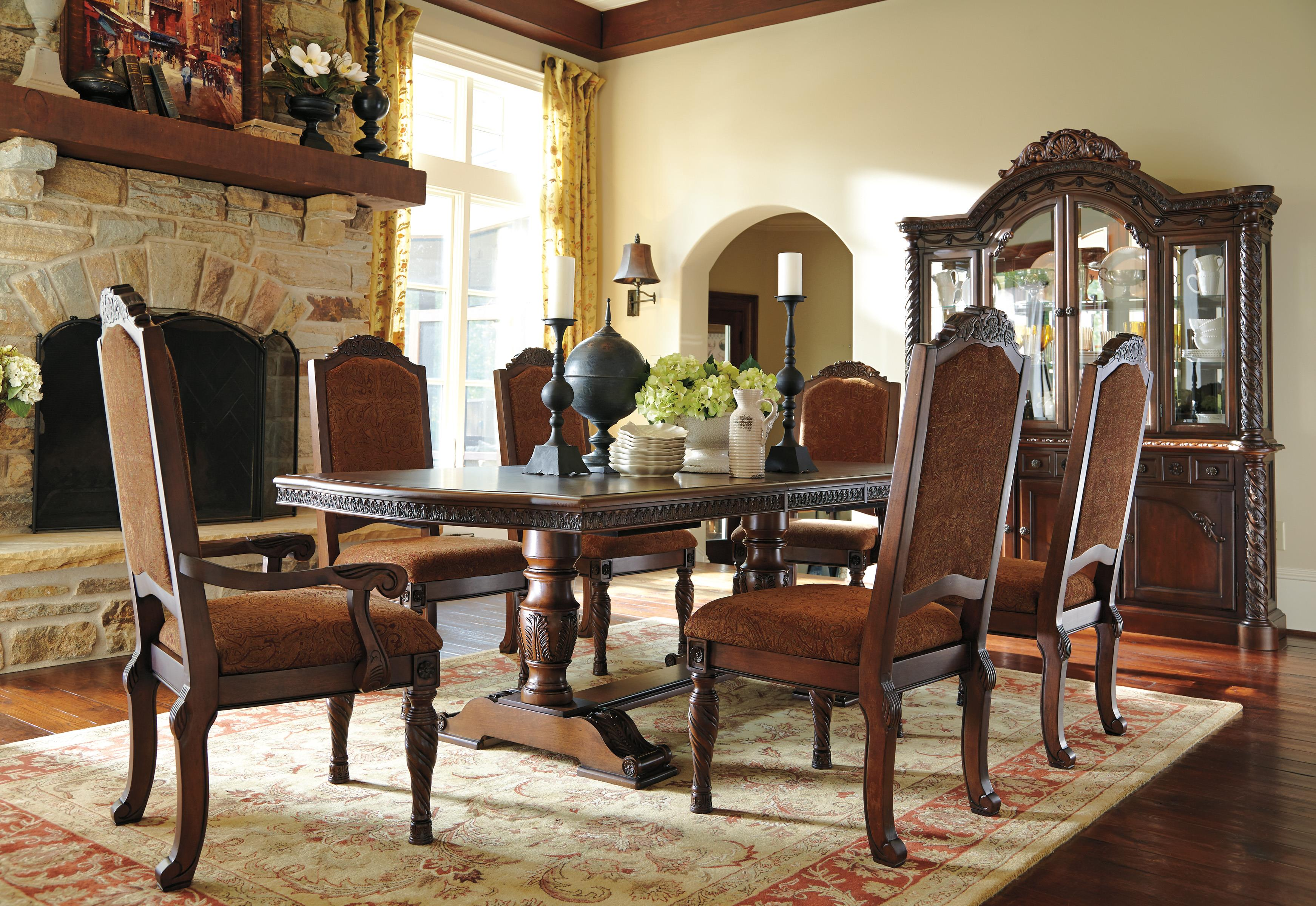 Millennium North Shore Formal Dining Room Group - Item Number: D553 Dining Room Group 8