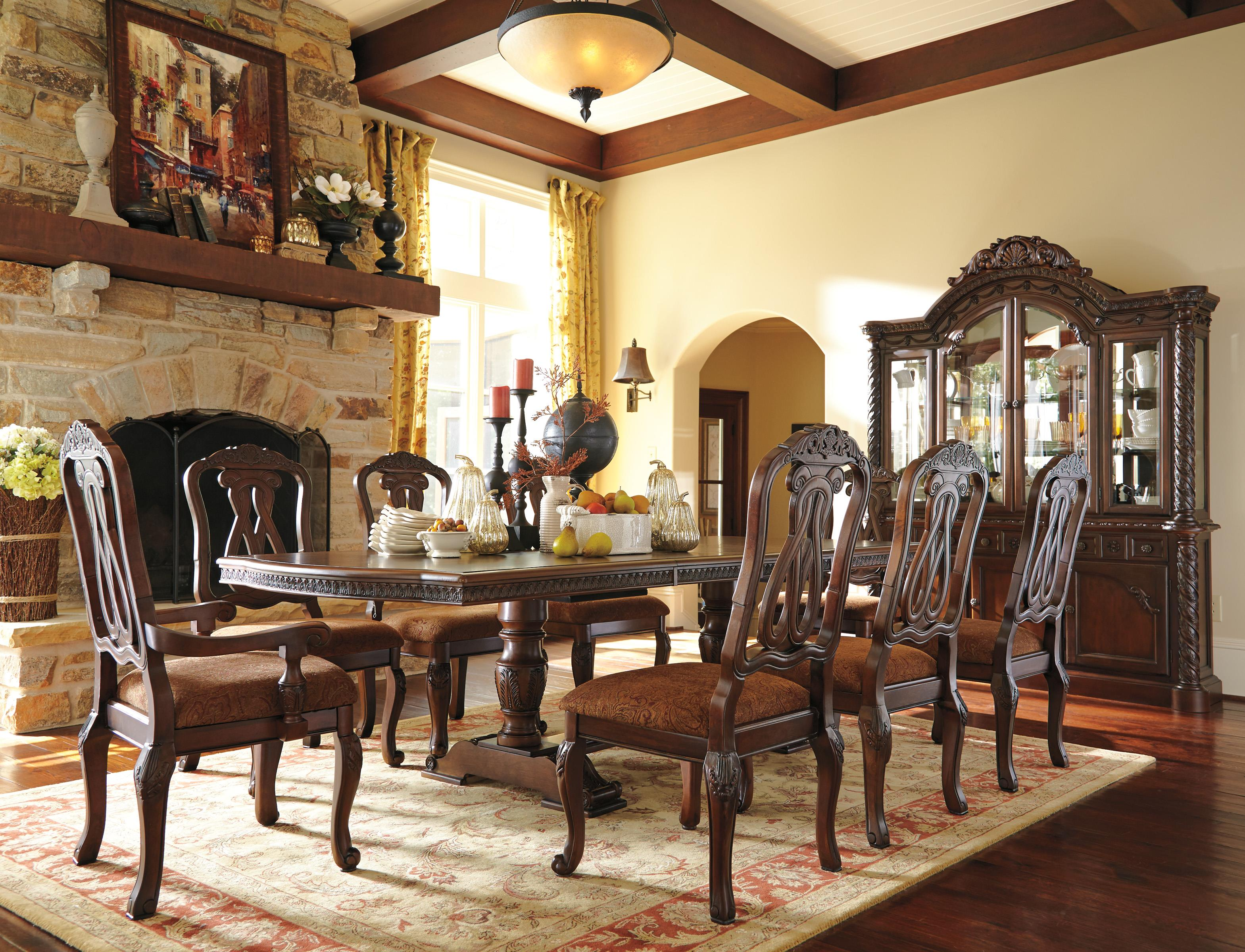 Millennium North Shore Formal Dining Room Group - Item Number: D553 Dining Room Group 9