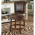 Millennium North Shore Upholstered Swivel Barstool - Item Number: D553-224