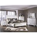 Millennium Prentice Queen Sleigh Bedroom Group with Storage Foot - Item Number: 4058176