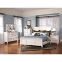 Millennium Prentice Queen Bedroom Group - Item Number: B672 Q Bedroom Group 4