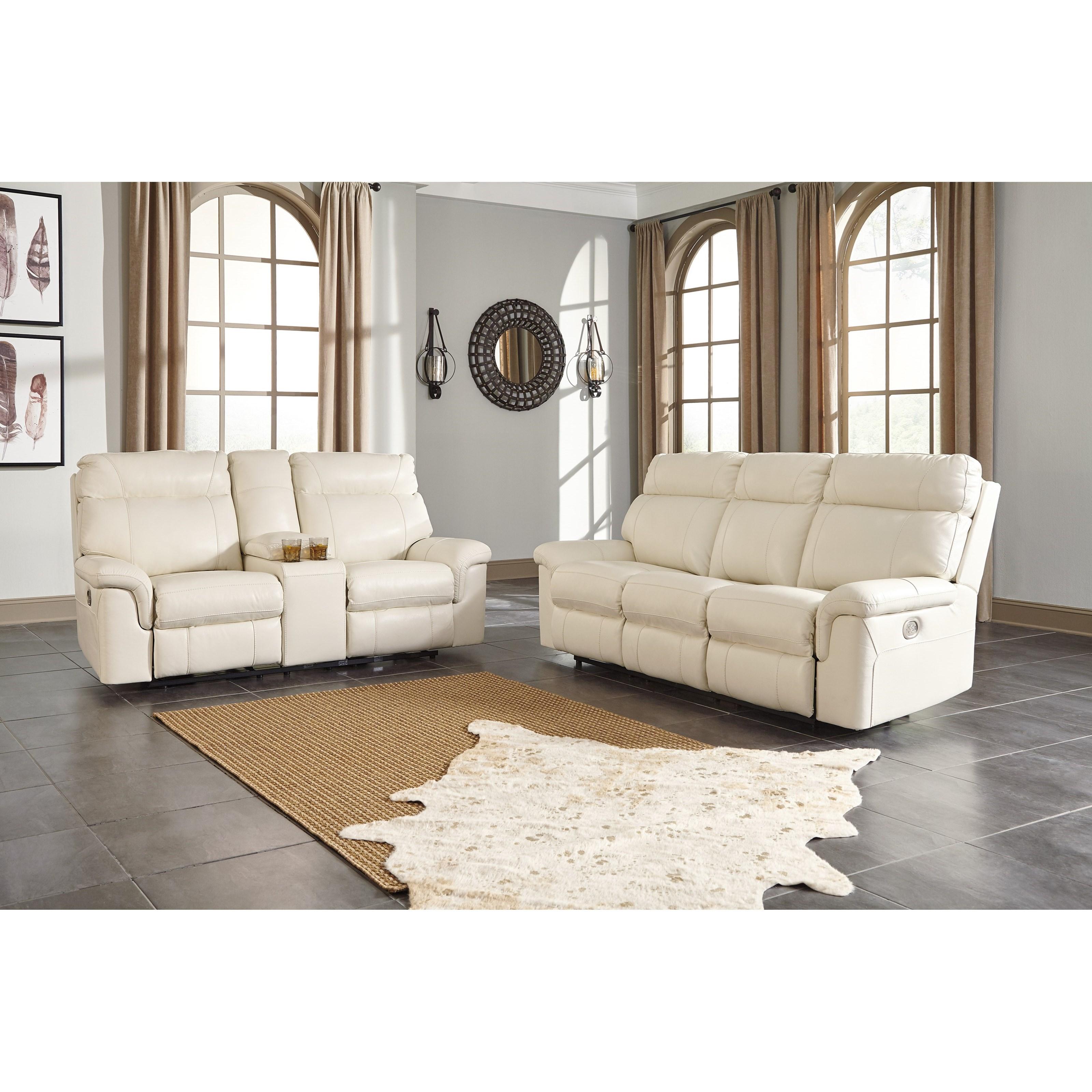 Millennium Whiteville Reclining Living Room Group | Household ...