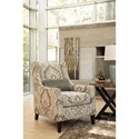 Millennium Wilcot Contemporary Accent Chair with Tall Tapered Legs